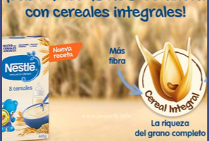 Papillas de descuento Nestle