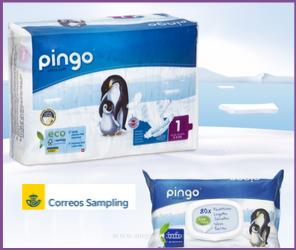 muestra gratis pañales Pingo