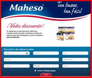 Nuevos vales de Maheso®