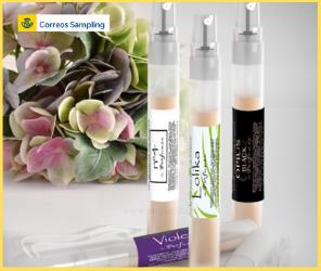 Nueva campaña de Correos Sampling y Perfumia