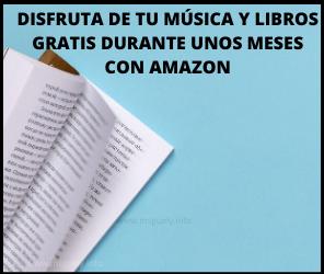Musica y libros gratis