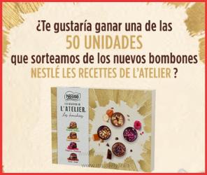 Sorteo Nestlé Bombones