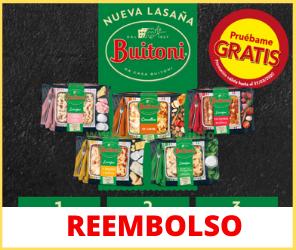 Reembolso de Buitoni