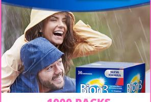 Gana uno de los 1000 pack de Bion3
