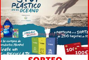 Nueva Promoción de Henkel 200 tajertas de 100 euros