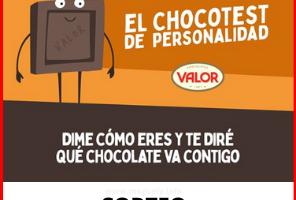Gana un pack de chocolates Valor