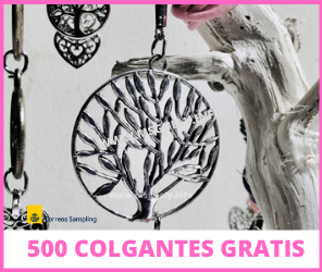 500 Colgantes gratis