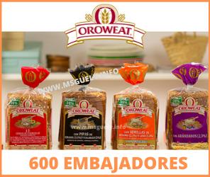 600 Embajadores de Oroweat