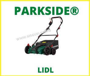 Lidl Parkside Escarificador y Aireador