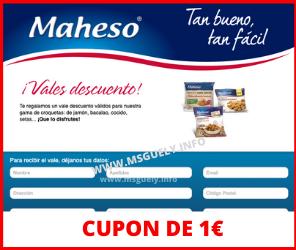 Cupones Maheso