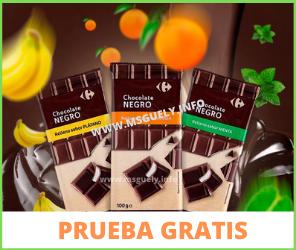 Prueba gratis Chocolate Carrefour