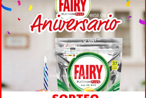 Sorteo Fairy Platinum Plus