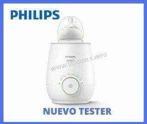 Nuevo tester Philips calientabiberones