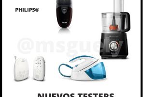 4 Testers nuevos de Philips