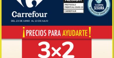 Folleto Carrefour 3x2