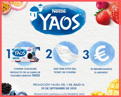 Prueba Gratis Yaos de Nestle
