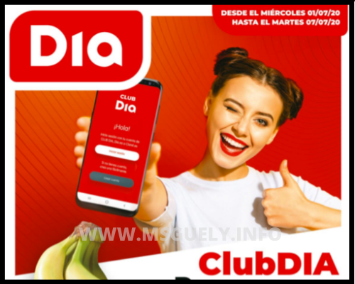 Supermercado Día Folleto
