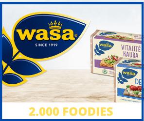 2000 foodies en Trns y Wasa