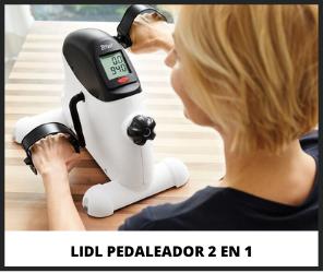 Pedaleador Lidl 2 en 1