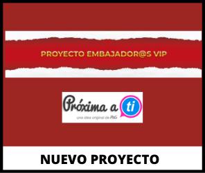 Nuevo proyecto Proxima a Ti