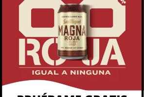 Prueba Gratis San Miguel Magna Roja 0.0%