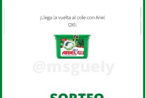 Sorteo Ariel OXI