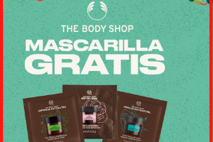 Mascarilla gratis The Body Shop