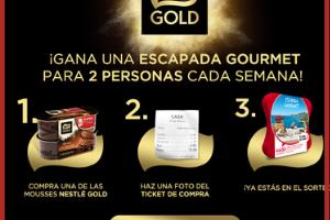 Sorteo Gold Nestle