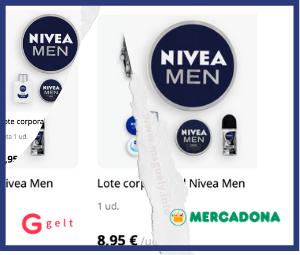 Promoción Nivea y Gelt