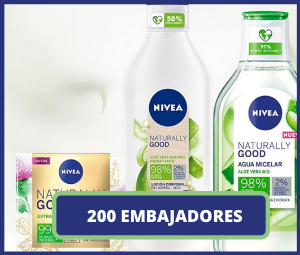 200 Embajadores Nivea Naturally