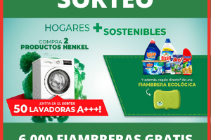 Sorteo Henkel 50 lavadoras