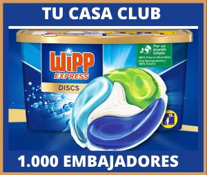 !000 Embajadores Tu Casa Club y WiPP Express