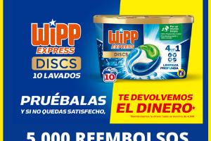 5000 reembolsos Wipp Express