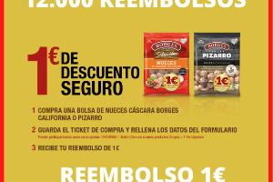 Reembolso Borges 1 euro