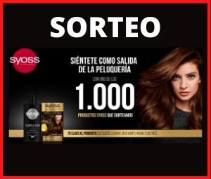 Sorteo 1000 productos Syoss