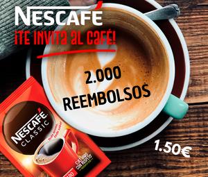 2000 reembolsos Nescafé